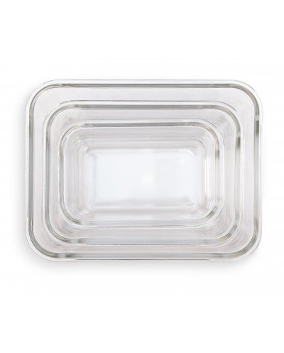 Set contenedores Vidrio aptos horno