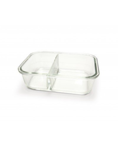 Contenedor vidrio dividido 1360 ml. (530ml+830ml)