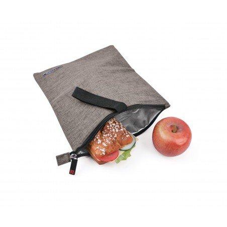 Snack Bag Gris - Bolsa almuerzo
