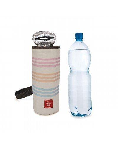 Portabotellas Bottle Bag Rayas Mediterráneo 1.5L