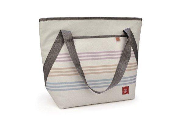 Shoulder Cooler Bag Rayas Mediterráneo 18L