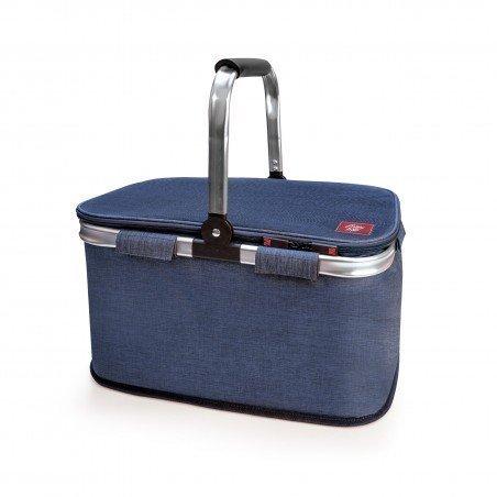 Picnic Basket Azul Jaspeado 20L