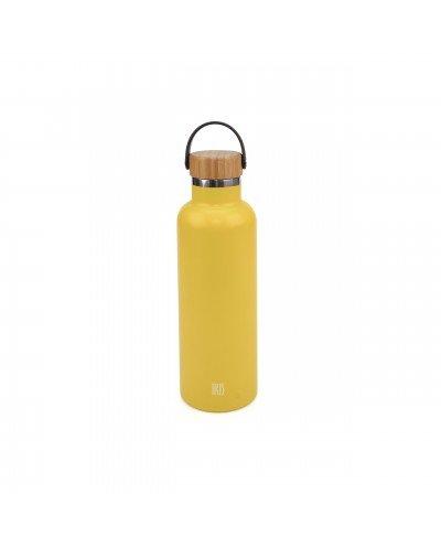 Botella Termo Inox. Fruit Colors 750ML Amarillo