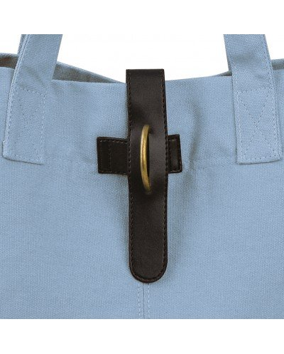 Natural Lunchbag Azul