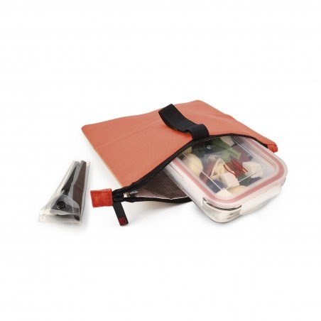 Snack Bag Fruit Colors - Bolsa almuerzo Coral