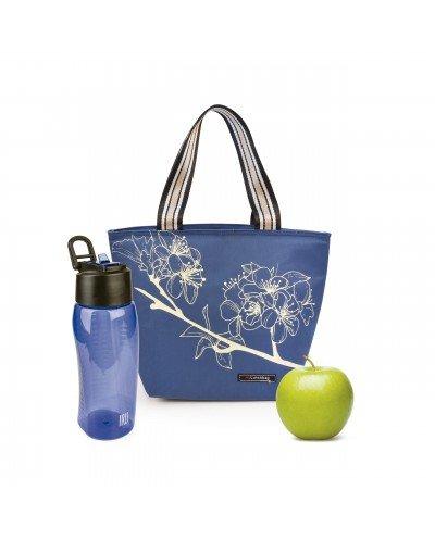 Tote Lunchbag Botanic Azul