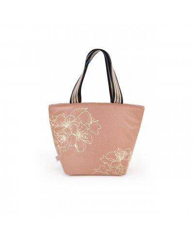 Tote Lunchbag Botanic Rosa