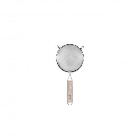 Colador Inox. 18/8 con Mango de Madera 10 cm
