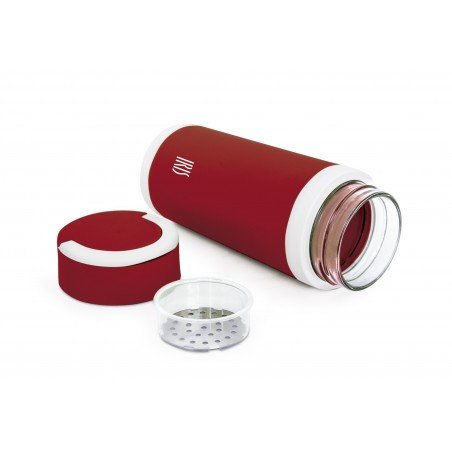 Botella Térmica de Vidrio 450 ml.