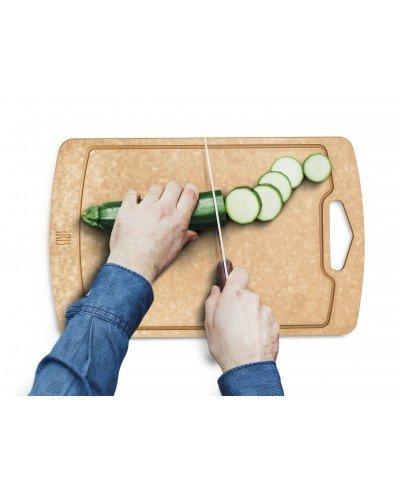 Tabla de cortar de fibra de madera 33x21,50cm